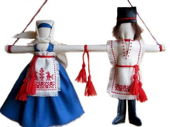 Куклы-неразлучники пошагово