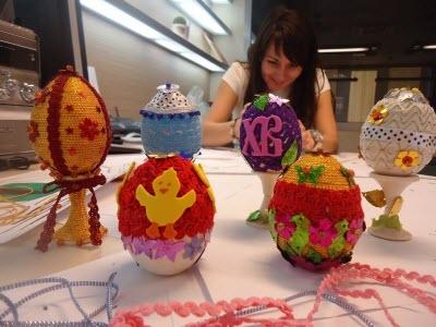 Мастер класс по декорированию пасхальных яиц