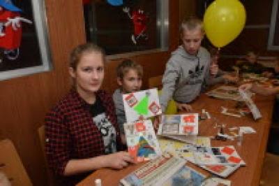 Благотворительный мастер класс «Декор блокнотов»